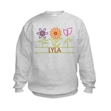 Lyla with cute flowers Sweatshirt