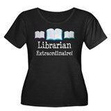 Librarian (Extraordinaire) Women's Plus Size Scoop