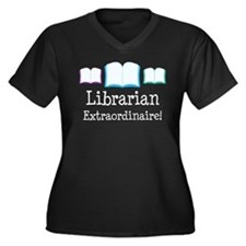 Librarian (Extraordinaire) Women's Plus Size V-Nec