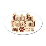 Cavalier King Charles Spaniel Mom 38.5 x 24.5 Oval