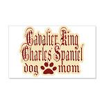 Cavalier King Charles Spaniel Mom 22x14 Wall Peel