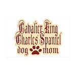 Cavalier King Charles Spaniel Mom 38.5 x 24.5 Wall