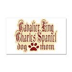 Cavalier King Charles Spaniel Mom Car Magnet 20 x
