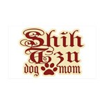 Shih Tzu Mom 38.5 x 24.5 Wall Peel