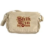 Shih Tzu Mom Messenger Bag