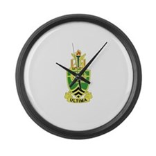 DUI - Sergeants Major Academy Large Wall Clock