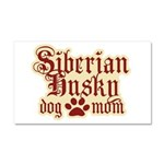 Siberian Husky Mom Car Magnet 20 x 12
