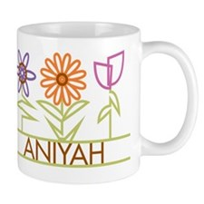 Aniyah with cute flowers Mug