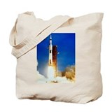 Saturn V Launch Tote Bag