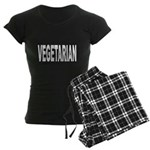 Vegetarian Women's Dark Pajamas