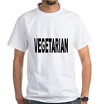Vegetarian White T-Shirt