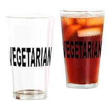 Vegetarian Drinking Glass