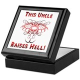 Uncle Raises Hell Keepsake Box
