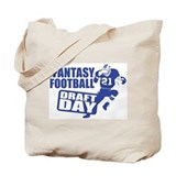 Fantasy Football Draft Tote Bag