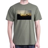 Radiant Morning Black T-Shirt