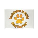 Obey The Pug Rectangle Magnet (10 pack)