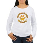 Obey The Pug Women's Long Sleeve T-Shirt