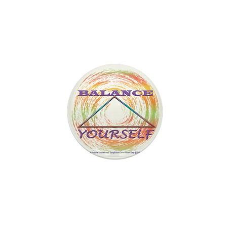 Balance Yourself Mini Button (100 pack)