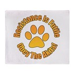 Akita Throw Blanket