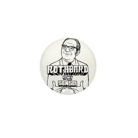 Rothbard Is My Sensei Mini Button