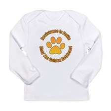 Golden Retriever Long Sleeve Infant T-Shirt