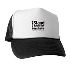 Stand BestFriend Breast Cancer Trucker Hat