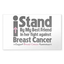 Stand BestFriend Breast Cancer Decal