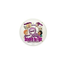 Sister's In The Fight Mini Button (10 pack)