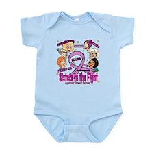Sister's In The Fight Infant Bodysuit