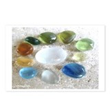 Seaham Seaglass Postcards (Package of 8)
