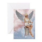 Angels song Greeting Cards (Pk of 10)