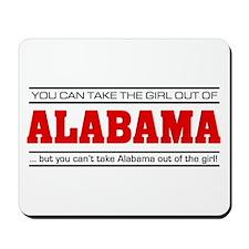 'Girl From Alabama' Mousepad