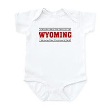 'Girl From Wyoming' Infant Bodysuit