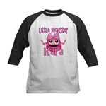 Little Monster Kara Kids Baseball Jersey