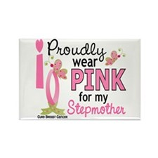 I Wear Pink 27 Breast Cancer Rectangle Magnet (100