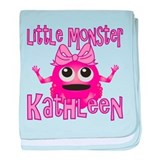 Little Monster Kathleen baby blanket