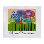 Nurse Practitioner III Throw Blanket