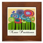 Nurse Practitioner III Framed Tile