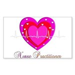 Nurse Practitioner III Sticker (Rectangle 50 pk)