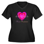 Nurse Practitioner III Women's Plus Size V-Neck Da