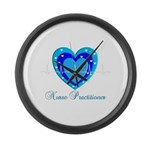 Nurse Practitioner III Large Wall Clock