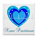 Nurse Practitioner III Tile Coaster