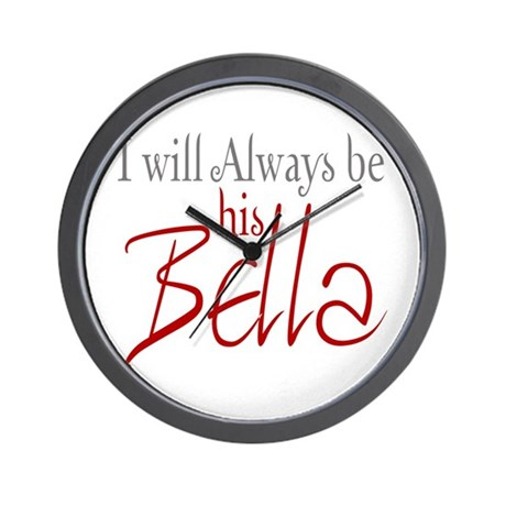 I will always be his Bella Wall Clock