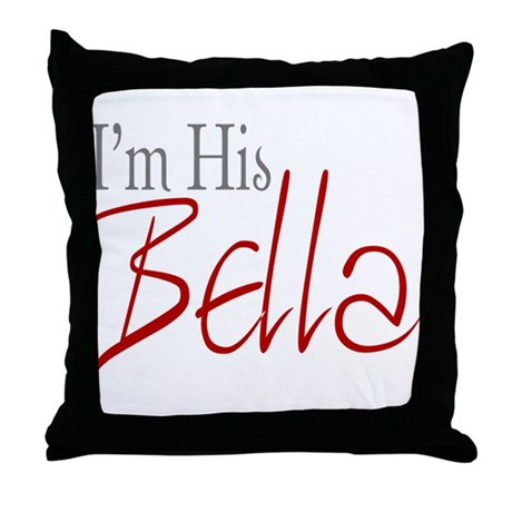 His Bella Throw Pillow