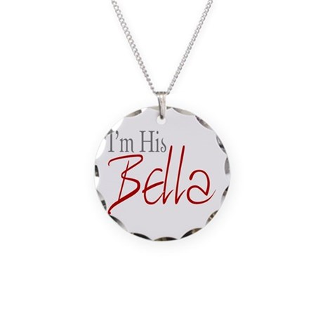 His Bella Necklace Circle Charm