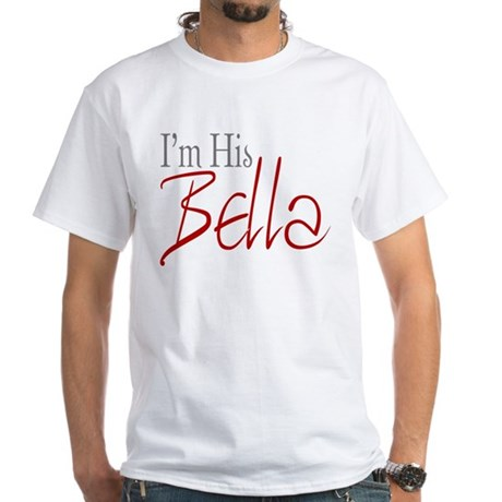His Bella White T-Shirt