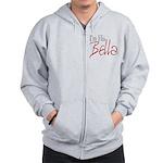 His Bella Zip Hoodie