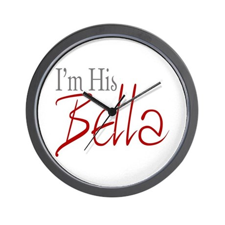 His Bella Wall Clock