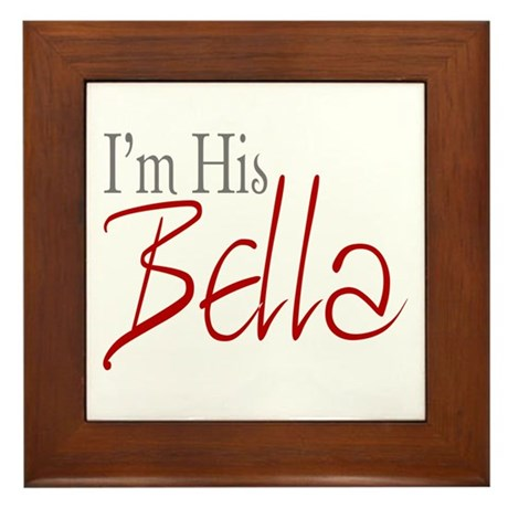 His Bella Framed Tile