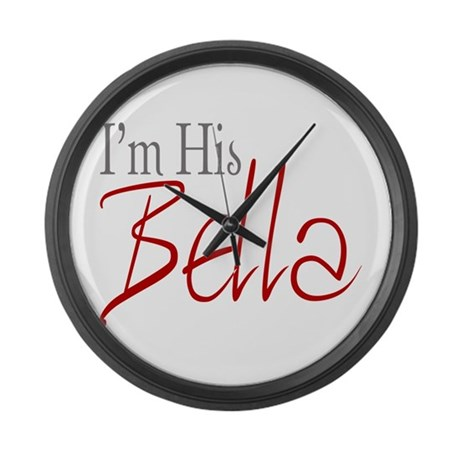His Bella Large Wall Clock